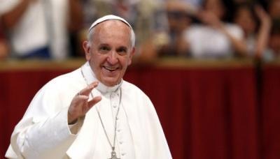 Папа Франциск привітав християн східного обряду з Різдвом