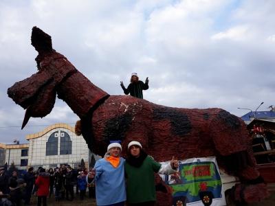 На фестивалі маланок у Чернівцях буде 7-метровий собака Скубі-Ду (ФОТО)