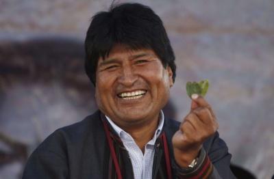 Президент Болівії заявив, що листя коки є символом єдності і солідарності