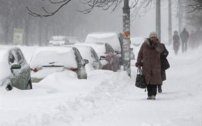 Укргідрометцентр: На Україну очікують хуртовини та морози до -25 градусів