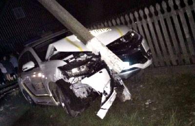 Чернівецькі поліцейські за два роки потрапили у півсотні аварій