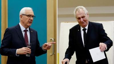 Чехія: до другого туру президентських виборів пройшли Земан і Драгош