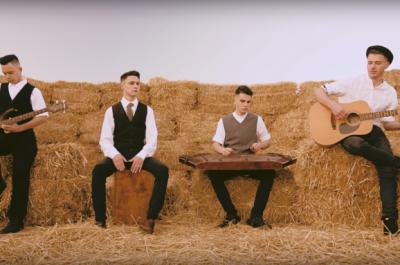 Кавер-группа из Буковины сыграл «Щедрик» на цимбалах (ВИДЕО)