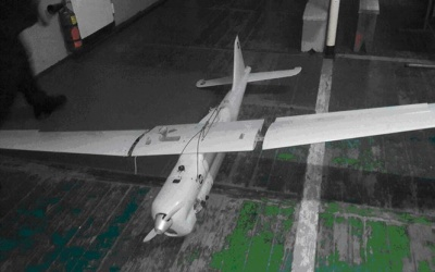 У зоні АТО українські військові збили російський безпілотник