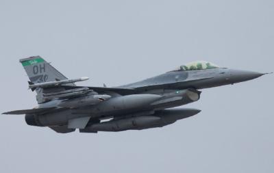 В Естонію прибули 12 американських винищувачів F-16