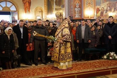Митрополит Онуфрій звершив літургію у Банченському монастирі