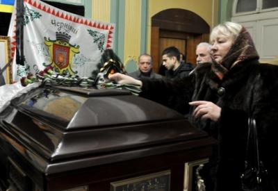 У Чернівцях прощаються із заслуженим будівельником України Василем Морозом (ФОТО)