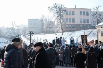 Воду в Чернівцях освятять на площі Пресвятої Марії