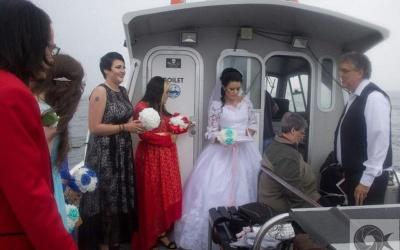 Мешканка Ірландії вийшла заміж за уявного чоловіка (ФОТО)