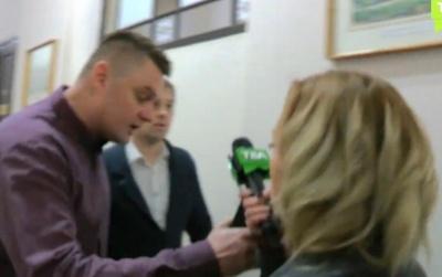 Депутат Кандиба заявив, що журналістка «ТВА» намагалась «згвалтувати Мокловича мікрофоном»
