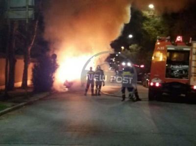 У Греції невідомі підпалили авто біля українського посольства