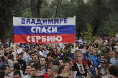 У Сербії проросійська партія закликала Путіна ввести війська в Косово