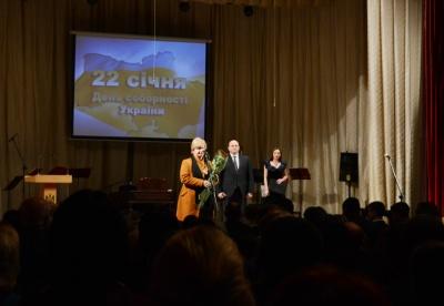 У Чернівцях до Дня Соборності відзнаками нагородили бійців АТО
