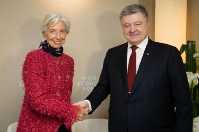 Після зустрічі з Лагард, Порошенко заявив про продовження співпраці з МВФ