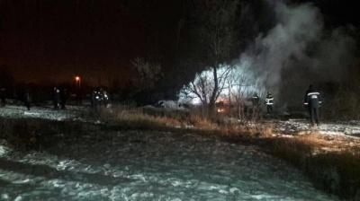 У Кременчуку розбився гелікоптер Мі-8