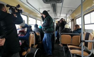 «Мер під прикриттям» - Каспрук став контролером тролейбуса