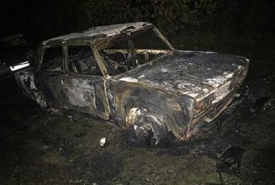 Через ревнощі буковинка спалила авто колишньому коханому