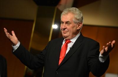 Земан переобраний президентом Чехії