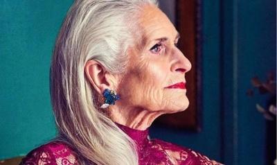 89-річна модель Дафні Селф стала обличчям косметичного бренду