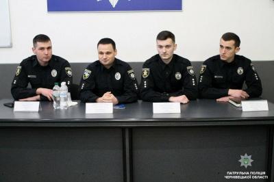 У Чернівцях представили нового керівника патрульної поліції