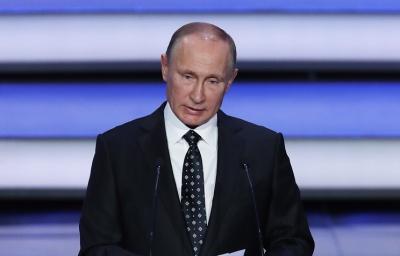 """Путін назвав """"кремлівську доповідь"""" Мінфіну США недружнім актом"""