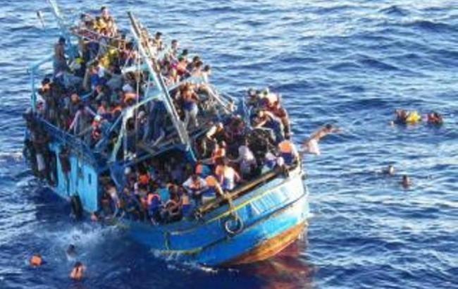 УСередземному морі потонули щонайменше 90 мігрантів