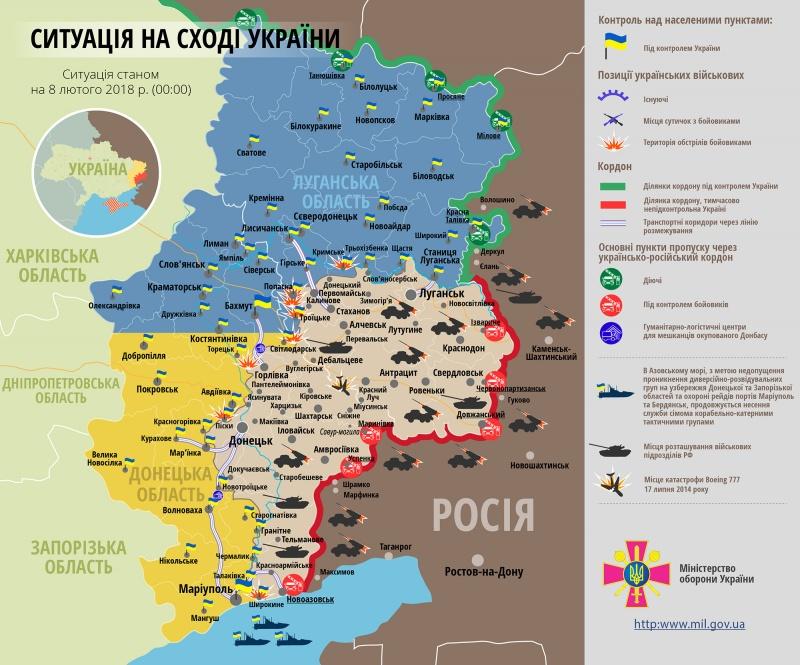 Поранено одного українського бійця— Доба вАТО
