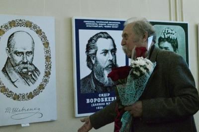 Відомий митець Іван Балан привіз до Чернівців роботи, які збирав у майстерні 20 років