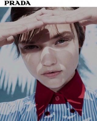 Українська модель знялася у рекламній компанії Prada
