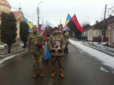 На Буковині прощаються із загиблим у зоні АТО бійцем батальйону «Донбас»