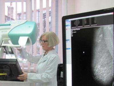 У Чернівцях у поліклініці №2 почав працювати мамограф