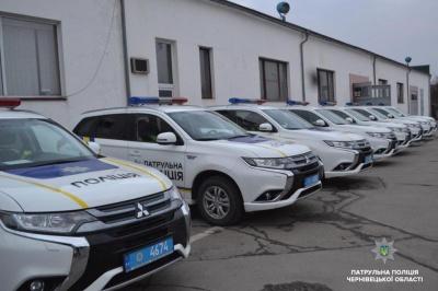 Співробітники патрульної поліції почали патрулювання на автошляхах Буковини