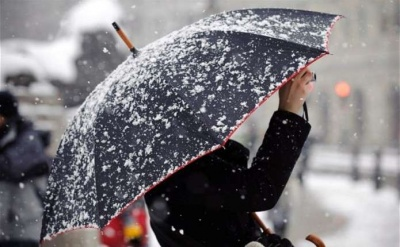 На Буковині знову штормове попередження – снігопади і сильний вітер