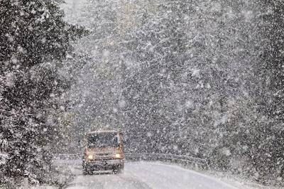 На Буковині вночі 9-10 лютого прогнозують сильний снігопад і погіршення видимості