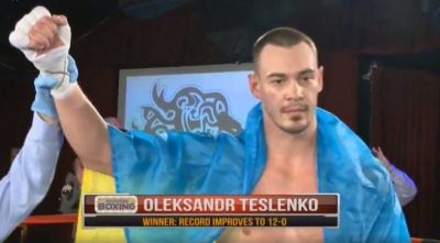 Боксер з Буковини переміг технічним нокаутом у поєдинку з американцем у США