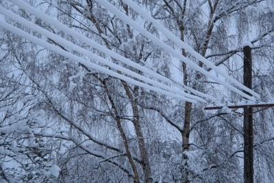 На Буковині без електрики ще вісім населених пунктів