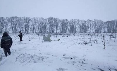 Катастрофа Ан-148: На борту літака були лише росіяни