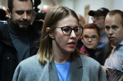 У Росії Собчак через суд вимагає зняти Путіна з виборів