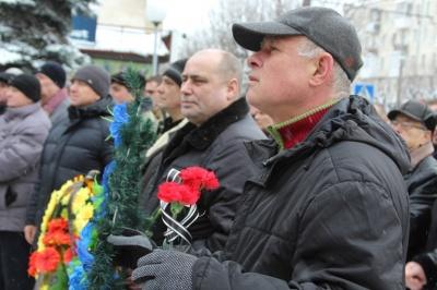 У Чернівцях приблизно 100 осіб взяли участь у вшануванні пам'яті воїнів-афганців