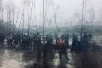 На Рівненщині близько сотні копачів бурштину напали на поліцейських