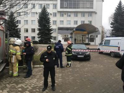 У поліції Буковини розповіли про тип гранати, яка вибухнула у приміщенні ДФС та версію її появи