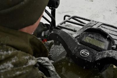 Від снігоходів втекти важче: їх тепер застосовують для охорони кордону на Буковині