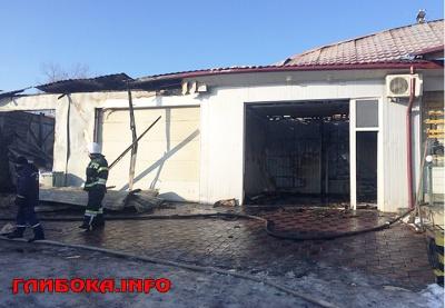 У Чернівецькій області у масштабній пожежі постраждала автомийка і кафе-бар (ФОТО)