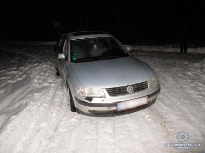 На Буковині правоохоронці затримали зловмисника, який вкрав «Фольксваген»