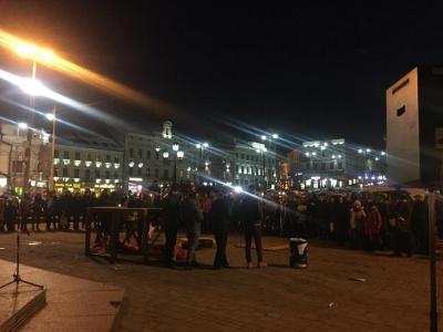 У Чернівцях приблизно 200 людей взяли участь у вечорі пам'яті Героїв Небесної сотні