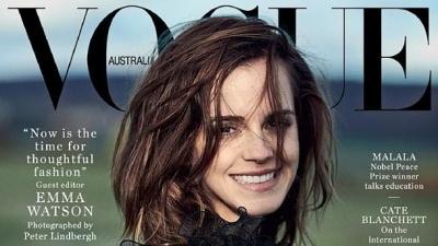 Емма Уотсон стала редактором Vogue Australia