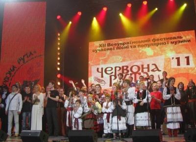 Стали відомі дати проведення концертів фестивалю «Червона рута» у Чернівцях