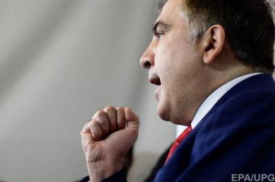 Саакашвілі емоційно відреагував на трирічну заборону в'їзду в Україну