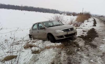 На Буковині на трасі зіткнулися Renault і Volkswagen: одна особа постраждала