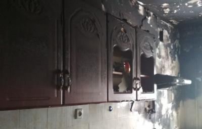 На Буковині через коротке замикання згоріла кухня у багатоповерхівці